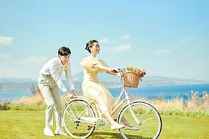 【夏日新风尚】元气森系婚纱照 私家外景