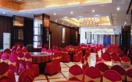 牡丹厅  2F [ 最大22桌 · 高3.5m · 无柱 · 长方形 · 低消1099 ]