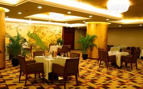中餐厅 [ 最大8桌 · 高3.2m · 无柱 · 正方形 · 低消1788 ]