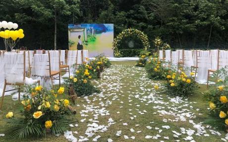 户外草坪婚礼2
