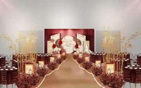 宴会厅  4F [ 最大20桌 · 高4.0m · 2个柱子 · 长方形 · 低消1699 ]