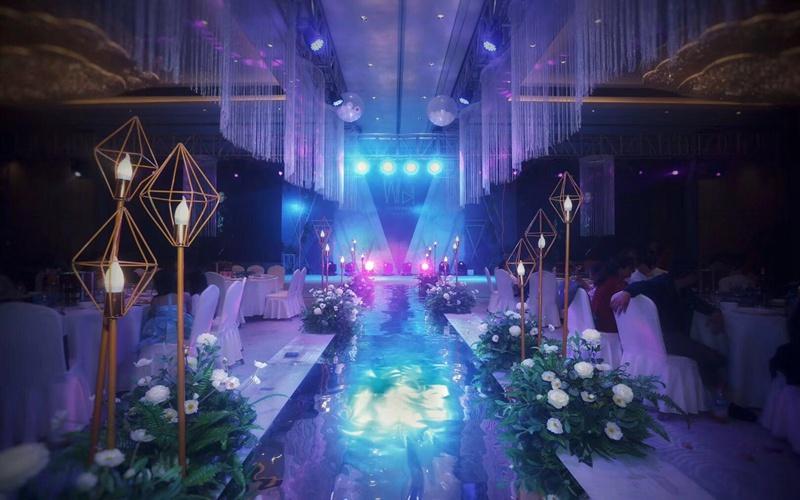 宴会厅  3F [ 最大55桌 · 高6.0m · 无柱 · 长方形 · 低消1588 ]