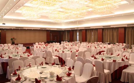 蜀山厅2F [ 最大20桌 · 高6.0m · 无柱 · 长方形 ·  ]