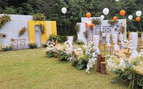 户外草坪婚礼4