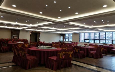 1A厅 [ 最大14桌 · 高4.0m · 无柱 · 长方形 ·  ]
