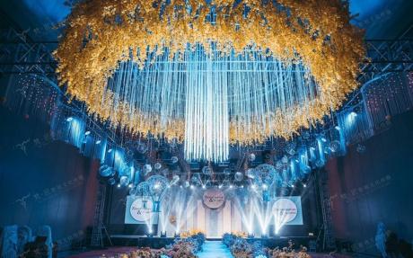 三楼宴会厅A [ 最大120桌 · 高12.5m · 无柱 · 长方形 ·  ]