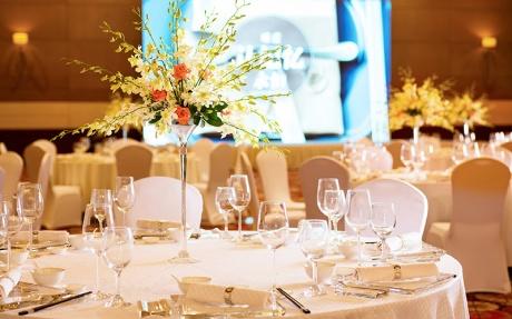 元一豪华宴会厅 - 桌子摆设