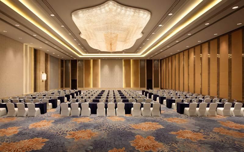 香格里拉宴会厅A [ 最大24桌 · 高7.5m · 无柱 · 长方形 · 低消4288 ]